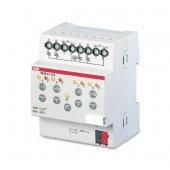 KNX ES/S 4.1.2.1 Актор электронные реле 4-х канальный 24-230V AC/DC 1 А DIN-рейка; 2CDG110058R0011