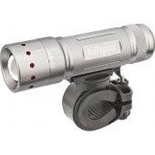Фонарь светодиодный NPT-B01-3AAA 1LED 5Вт велосипедный металл+пластик (94 964); 18644