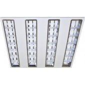 Светильник светодиодный ДВО-38w 595х595х45 4000K 2900Лм растровый IP20 (94 247 NGL-P1); 18815