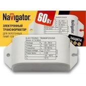 Трансформатор электронный 60w 12v с защитой (94 432 NT-EH); 17044