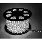 Шнур светодиодный Дюралайт постоянного свечения 2W 220В d13мм 1.6Вт/м (упак.100м) IP44 белый; KOC-DL-2W13-W