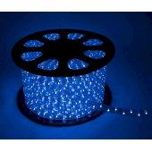 Шнур светодиодный Дюралайт постоянного свечения 2W 220В 1.6Вт/м d13мм (упак.100м) IP44 синий; KOC-DL-2W13-B
