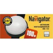 Светильник 94 806 NBL-R1-100-E27/WH (НПБ 1101 белый круг 100Вт) IP54; 4607136948068