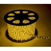 Шнур светодиодный Дюралайт постоянного свечения 2W 220В 1.6Вт/м d13мм (упак.100м) IP44 желтый; KOC-DL-2W13-Y