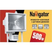 Прожектор 94 610 NFL-SH1-500-R7s/WH (ИО 500вт белый с датчиком движения); 4607136946101