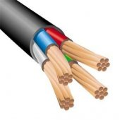 Силовой кабель ВВГ нг (А) LS 4х25-мк 06ТРТС многопроволочный|М000132 МАГНА
