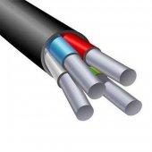 Силовой алюминиевый кабель АВВГ 4х4 (N)-0.660 однопроволочный|0524000001 АЛЮР