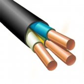 Силовой кабель ВВГнг-LS(А) 3х2.5 (N. PE) -0.660 однопроволочный|202 Конкорд