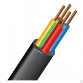 Силовой кабель ВВГнг(А)-LS 4х6-0.660 однопроволочный|228 Конкорд