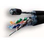 FTP4-C5E-MEDIAN-PE-OUTDOOR-305, T-FG8 (трос), 2x2xAWG24, CU (01-1035) кабель витая пара (LAN) для структурированных систем связи