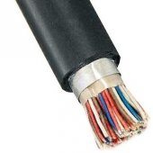 ТППэп-НДГ 20х2х0,5 телефонный кабель с полиэтиленовой изоляцией жил, с экраном из алюмополимерной ленты, в полиэтиленовой оболочке