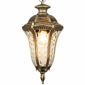 Подвесной светильник Elektrostandard a043121 Draco Draco H черное золото (GL 1010H)