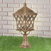 Уличный фонарь высокий Elektrostandard a039869 Cassiopeya Cassiopeya S черное золото (GL 1018S)