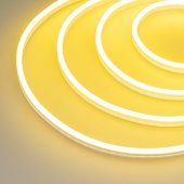 Гибкий неон GALAXY-1206-5000CFS-2835-100 12V Lemon (12x6mm, 12W, IP67) (ARL, 12 Вт/м, IP67) 031817