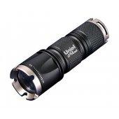 Ручной светодиодный фонарь от батареек 185лм P-ML071-BB черный; 05722 Uniel