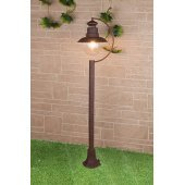 Уличный фонарь высокий Elektrostandard a038484 Talli Talli F брауни (GL 3002F)