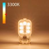 Светодиодная лампа JCD 3W 220V 3300K G9 Elektrostandard BLG906 a049866