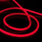Гибкий неон красный 10 м 9,6 Вт/м 120 LED 2835 IP67 16 мм Elektrostandard LS002 220V a049189