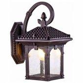Уличный настенный светильник Elektrostandard Corvus GL 1021D капучино a043651