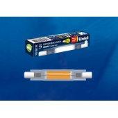 Лампа светодиодная LED-J78 R7s 7Вт 4000K LED-J78-7W/4000K/R7s/CL GLZ07TR; UL-00005062 Uniel