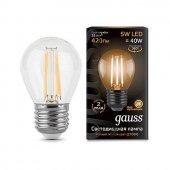 Лампа светодиодная Gauss 1058 E27 5Вт 2700K 105802105-D