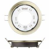 Встраиваемый светильник GX53/H2 Antique Brass 10 Prom; UL-00005056 Uniel