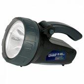 Фонарь-прожектор светодиодный Uniel аккумуляторный 90 лм S-SL017-BA Black 06649