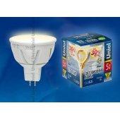 Лампа светодиодная Uniel GU5.3 5Вт 3000K 07912