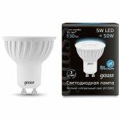 Лампа светодиодная 1015 GU10 5Вт 4100K 101506205