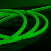 Комплект гибкого неона круглого зеленого 10м 9.6 Вт/м 144 LED 2835 IP67 16 мм LS003 220V Elektrostandard a047019