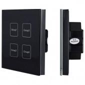 Сенсорная панель INTELLIGENT DALI-113-4G-DIM-IN (BUS, черная) 026773