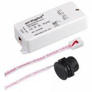 Датчик движения Arlight SR-8001 SR-8001A Black (220V, 500W, IR-Sensor); 020207