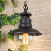 Подвесной светильник Talli H GL 3002H чёрный Elektrostandard a038483