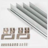 Набор для встраивания панелей BX3030 White (для панелей IM-300x300) (ARL, Металл) Arlight 023532