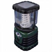 Кемпинговый энергосберегающий фонарь от батареек 122х122 13лм TL091-B зеленый; 03816 Uniel