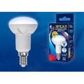 Лампа светодиодная Dim E14 7Вт 4000K LED-R50 7W/4000K/E14/FR/DIM PLP01WH; UL-00004709 Uniel