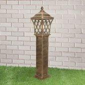 Уличный фонарь высокий Elektrostandard a039870 Cassiopeya Cassiopeya F черное золото (GL 1018F)