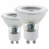 Набор из 2 ламп светодиодных Eglo ПРОМО 11470 GU10 Вт 3000K 11475