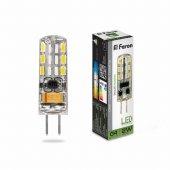 Лампа светодиодная LB-420 12V G4 2W 4000K; 25448
