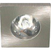 27668; Светодиодный светильник LN774/G774 встраиваемый 1W 6400K серебристый