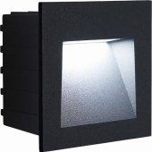 41161; Светодиодный светильник LN013 встраиваемый 3W 4000K, IP65, черный