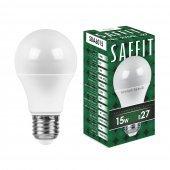 Лампа светодиодная SBA6015 Шар E27 15W 2700K; 55010