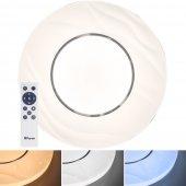 Светодиодный управляемый светильник накладной AL1836 тарелка 72W 3000К-6000K белый; 41235