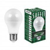 Лампа светодиодная SBA6015 Шар E27 15W 4000K; 55011