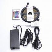 27706; Cветодиодная LED лента LS606, готовый комплект 5м 60SMD(5050)/м 14.4Вт/м IP20 12V RGB