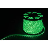 Дюралайт светодиодный LED-F3W 3-х жильный , зеленый 2,88Вт/м 72LED/м 50м 220V; 26069