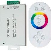 Контроллер для светодиодной ленты с П/У белый, 18А12-24V, LD56, артикул 21558; 21558