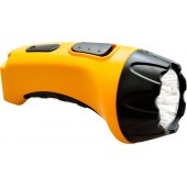 12651; Фонарь аккумуляторный, 4 LED DC (свинцово-кислотная батарея), желтый, TH2293 (TH93A)