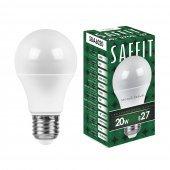 Лампа светодиодная SBA6020 Шар E27 20W 2700K; 55013