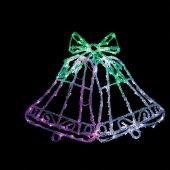 Световая фигура 230V 126 LED белый+зеленый+розовый, 10.8W, 20mA, с контроллером, IP 20, шнур 1.5м 0.5мм, LT012; 26710